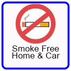 Smoke-free home and car